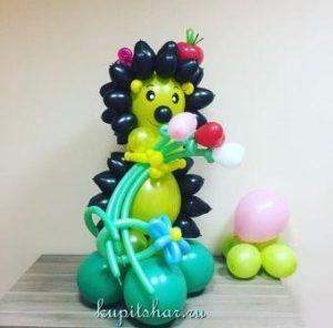 Ежик из шариков