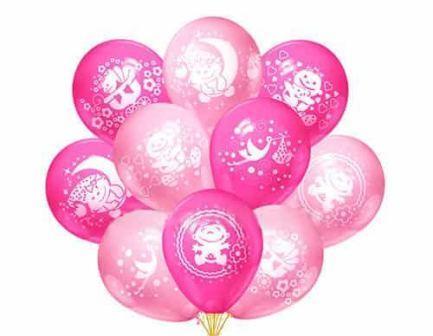 Рождение девочки воздушные шары